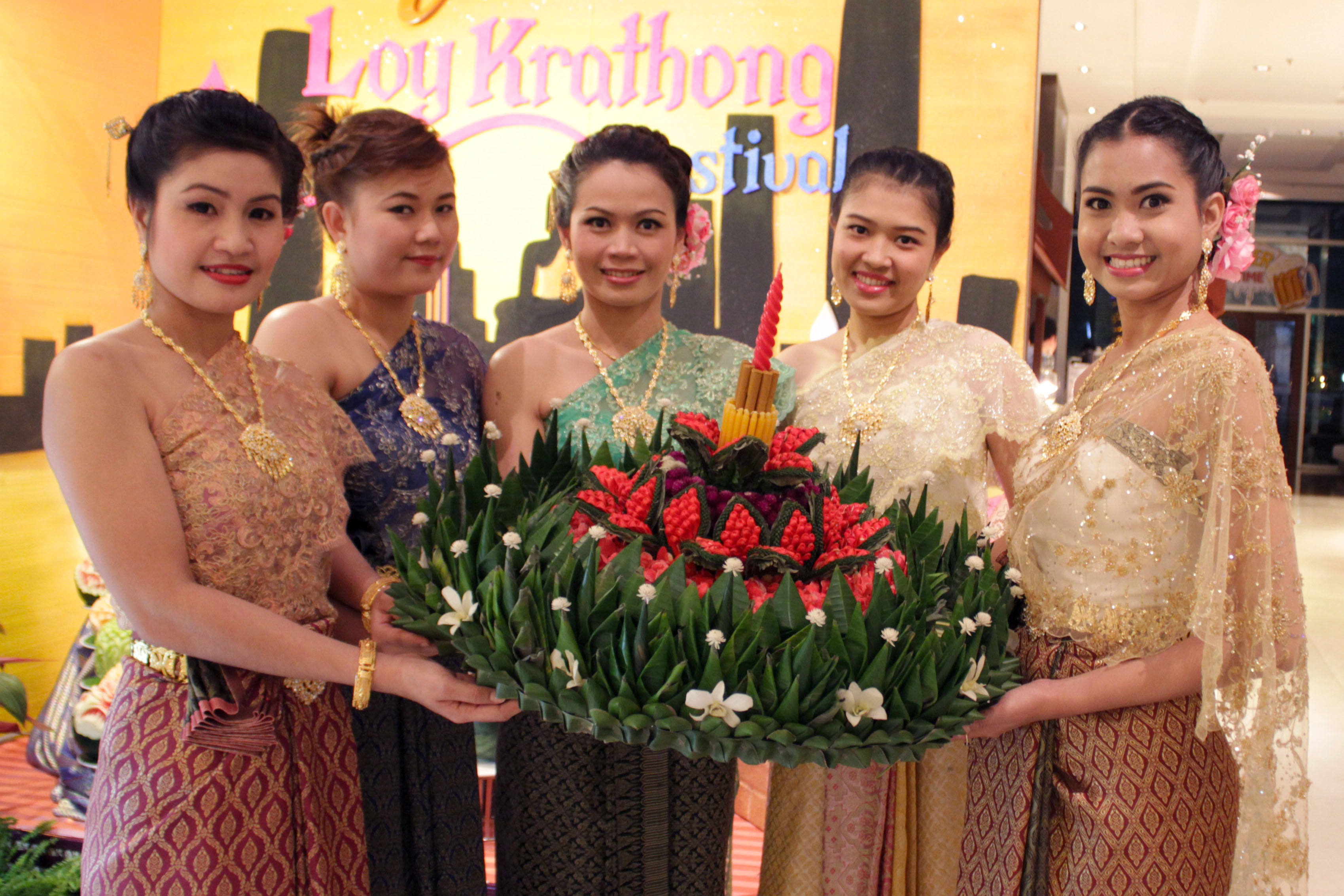 รูปภาพของ Loy Krathong Festival at Fourwings